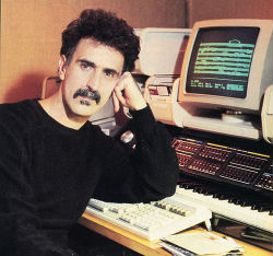 zappa with the synclavier